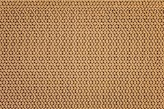 stock image of  texture brown plastic rubber doormat in ripple shape patterns on background