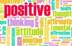 stock image of  thinking positive