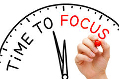 stock image of  time to focus