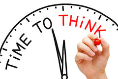 stock image of  time to think