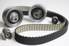 stock image of  timing belt
