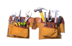 stock image of  tool belt