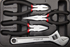stock image of  tool kit