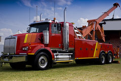 stock image of  towing and recovery vehicle
