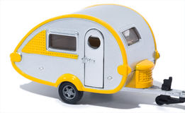 stock image of  toy camper