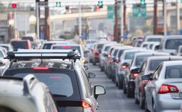 stock image of  traffic jam in the city
