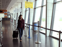stock image of  travel woman