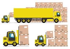imagine stock despre  camioane