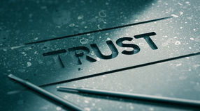 stock image of  trust concept