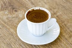 stock image of  turkish coffee and turkish delight