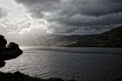 stock image of  inhospitable loch duich