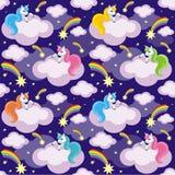 stock image of  unicorns and comets
