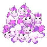 stock image of  unicorns