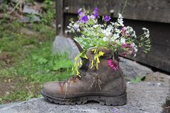 stock image of  unusual garden decoration