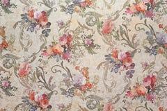 stock image of  vintage floral wallpaper