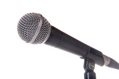 stock image of  vocal microphone