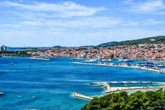 stock image of  the vodice cityscape