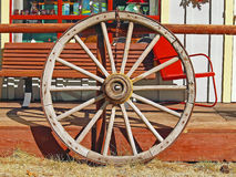 stock image of  wagon wheel
