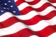 stock image of  waving american flag
