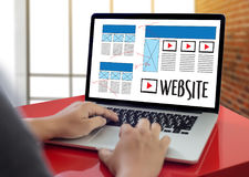 stock image of  web design layout sketch drawing software media www and graphic