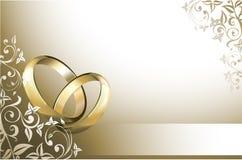 stock image of  wedding card