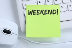 stock image of  weekend relax relaxed break free time freetime leisure business