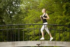 stock image of  woman running