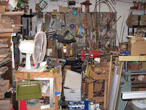 stock image of  wood workshop