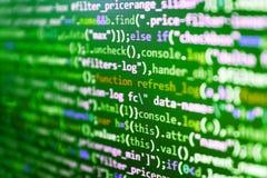 stock image of  developer working on websites codes
