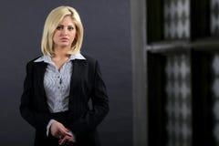 stock image of  youg executive woman