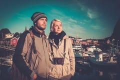 imagine stock despre  tineri călătorii