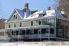 stock image of  zane grey lived here