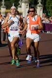 T12 (blind) Marathon Royalty Free Stock Photos