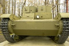 The T26 Two-Turret Light Tank. Stock Photography