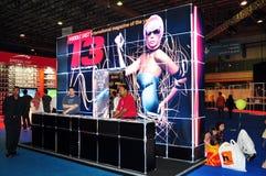 T3 2008 de client de l'information de gitex de cabine Photo stock