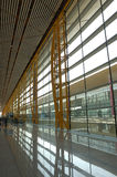 T3 Beijing International airport. The new T3 Beijing international airport royalty free stock photo