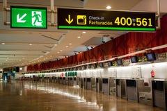 T3 di Madrid Barajas Fotografie Stock
