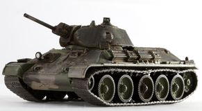 t34坦克 免版税库存照片