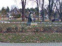 TaÅ¡ majdan park, Belgrado, Servië door Dunya_Ra stock foto's
