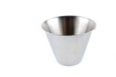 Taça de aço foto de stock royalty free