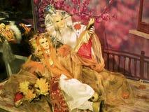 Taïpeh, fabrication de marionnettes de gant Photographie stock