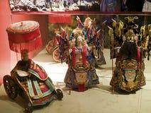 Taïpeh, fabrication de marionnettes de gant photos stock