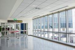 Taïpeh, Taïwan, 6ème le juin, 2013 : Aéroport Termi de Taïpeh Songshan Photographie stock libre de droits