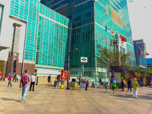 Taïpeh, Taïwan - 22 novembre 2015 : Tour de Taïpeh 101, vue de Photo stock