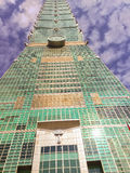 Taïpeh, Taïwan - 22 novembre 2015 : Tour de Taïpeh 101, vue de Image libre de droits