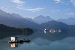 Taïwan - lac moon de Sun Photographie stock libre de droits