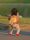 tańcząca dziewczyna Obrazy Stock