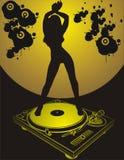 tańcząca dziewczyna Obraz Royalty Free
