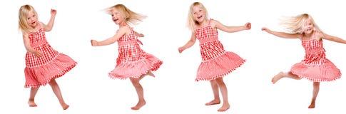 tańcząca dziewczyna Zdjęcie Stock