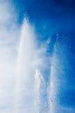 tańcząca fontanna Zdjęcie Stock